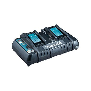 Makita DC18RD Twin Port 14.4v - 18v Li-Ion Battery Rapid Charger