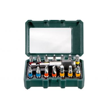 "Metabo 626703000 BIT BOX ""SP"", 15 PIECES"