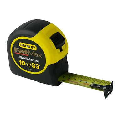 Stanley 0-33-805 FatMax Blade Armour Tape Measure 10m