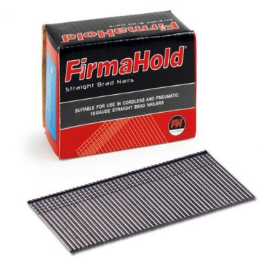 FirmaHold 16g Angled Glavanised Brad Nails 32mm Pack of 2000 No Gas