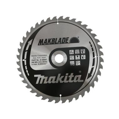Makita B-08997 305mm x 40T TCT MForce MSM30540G 2.30 Saw Blade