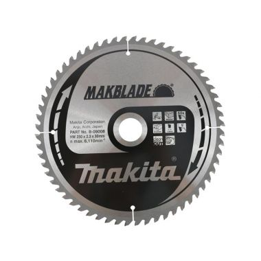 Makita B-09008 250mm x 60T TCT MForce MSM25060G 2.30 Saw Blade