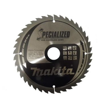 Makita B-09254 190mm x 40T TCT MForce CCM19040G 2.00 Saw Blade