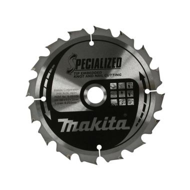 Makita B-09391 165mm x 24T TCT MForce CSME16524E 2.00 Saw Blade