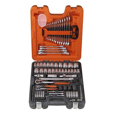 "Bahco S106 Socket and Spanner Set 1/4"" and 1/2"" Drive with 106 Pieces"