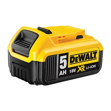 Dewalt DCB184 XR 18v 5.0Ah Li-Ion Slide On Battery Pack
