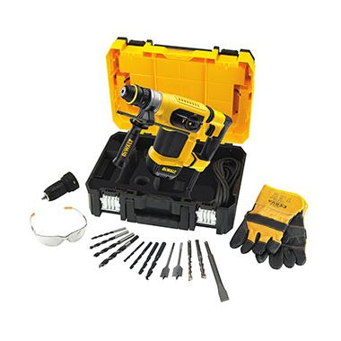 Dewalt D25414KT 32mm SDS Plus Multi Drill with Quick Change Chuck in T-Stak Kit Box 240v