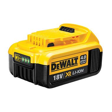 Dewalt DCB182 XR 18v 4.0Ah Li-Ion Slide On Battery Pack