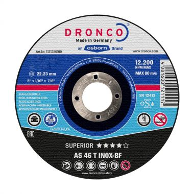 Dronco AS46T 230 x 1.9mm Inox Metal Cutting Disc