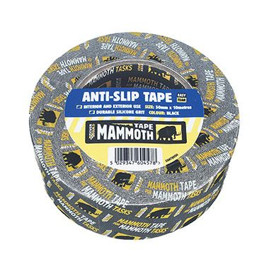 Everbuild 2ANTBK50 Anti-Slip Tape 50mm x 10m