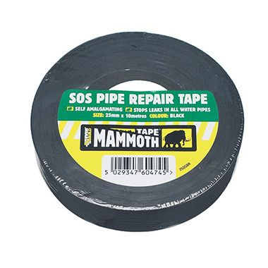 Everbuild 2SOSBK SOS Pipe Repair Tape 25mm x 10m