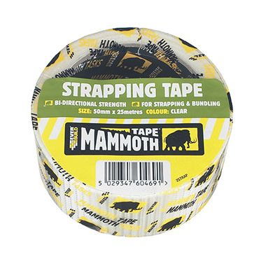 Everbuild 2STRAP Strapping Tape 50mm x 25m