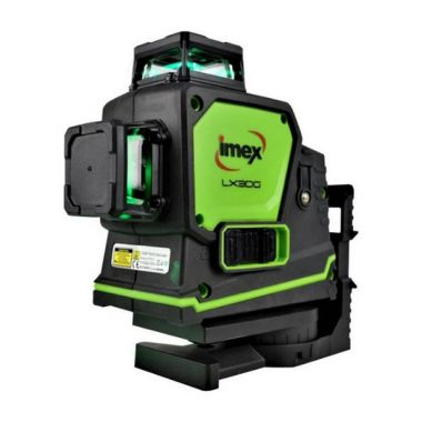 Imex LX3DG Cross Line Laser Level - Green Laser