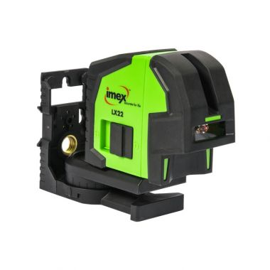 Imex LX22G Cross line Laser Level Kit with Green Beam