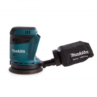 Makita DBO180Z 18V 125mm Sander Body Only