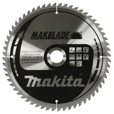 Makita B-09064 250mm x 72T TCT MForce MSF25072G 2.40 Saw Blade