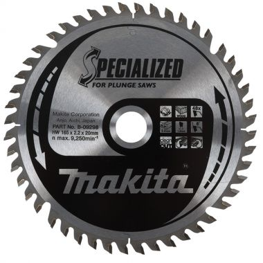 Makita B-09248 160mm x 40T TCT MForce BBS16540E 1.60 Saw Blade