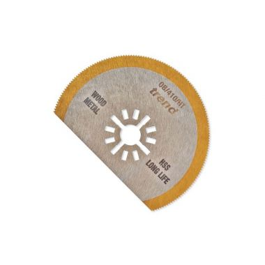 Trend OB/410/HT Tin Coat Oscillating Saw Blade 80mm Wide