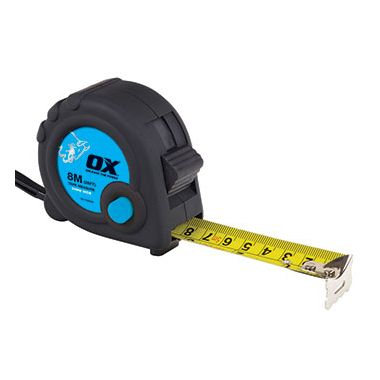 Ox OX-T020608 8m Trade Tape Measure