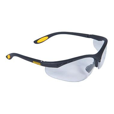 Dewalt Reinforcer Clear Safety Glasses