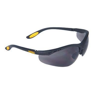 Dewalt Reinforcer Smoke Safety Glasses