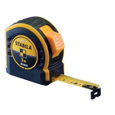 Stabila STBBM403 Pocket Tape 3m/10ft (Width 19mm)
