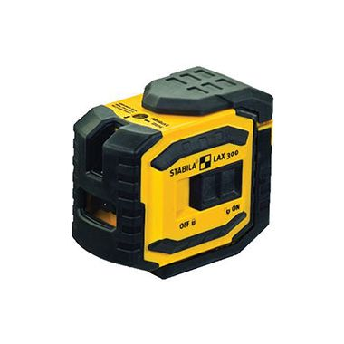 Stabila LAX300 Cross Line Laser Level with Plumb Points