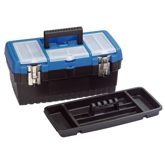 Draper 53878 11.5L Tool Box with Organiser