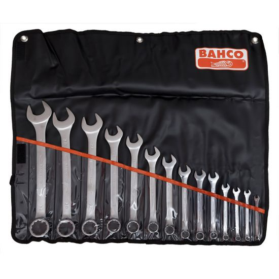 Bahco 111M/11T Combi Spanner Set with 11 Pieces and Roll