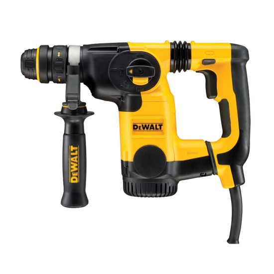 Dewalt D25324K SDS Plus Rotary Hammer Drill L Shape Handle with Quick Change Chuck 800w 110v