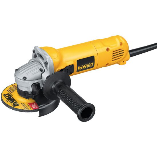 Dewalt D28113K 115mm 900w Mini Angle Grinder and Kit Box 240v