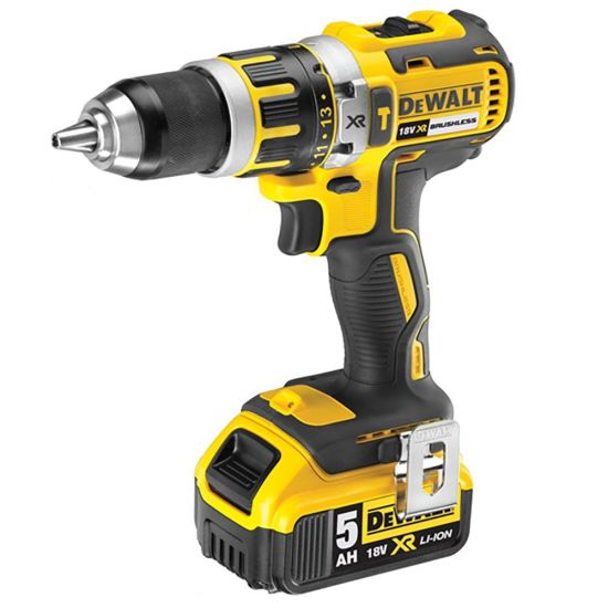 Dewalt DCD795P2 18v XR Li-ion Brushless Combi Drill 2 x 5.0Ah Battery