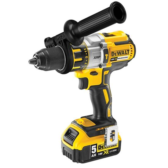 Dewalt DCD995P2 18v XRP Li-Ion Brushless Combi Drill 2 x 5.0Ah Batteries