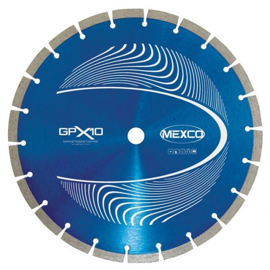 Mexco GPX10 115mm General Purpose Diamond Blade